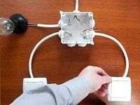 как правильно подключить выключатель