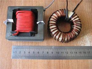 намотка трансформатора для инвертора