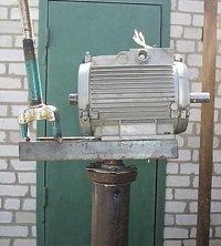асинхронный двигатель как генератор