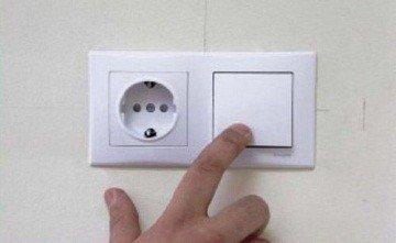 блок выключателя с розеткой подключение