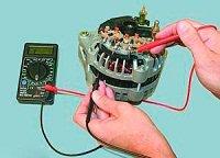 как проверить генератор на работоспособность