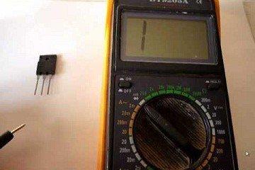 как проверить исправность транзистора мультиметром