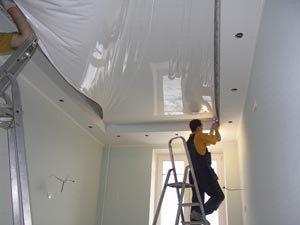 монтаж светильников в гипсокартонный потолок