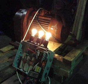 переделка асинхронного двигателя в генератор