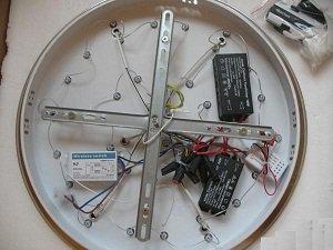 подключение люстры с пультом управления