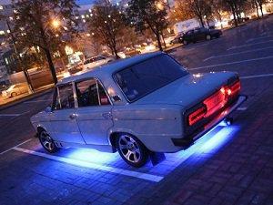 подключение светодиодной ленты в авто