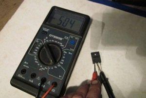проверка биполярного транзистора мультиметром