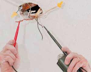 проверка проводки тестером