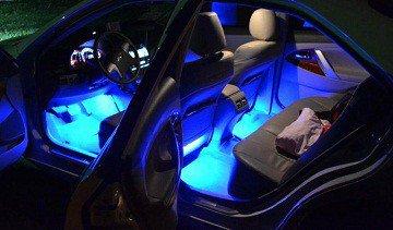 светодиодная лента в машину