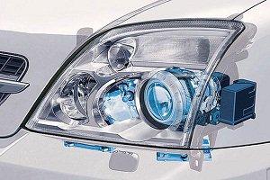 установка галогенных ламп в авто