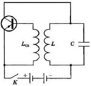 генератор на транзисторе автоколебания
