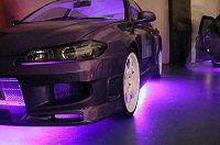 как подключить светодиодную ленту в машине