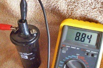 проверка катушек зажигания мультиметром