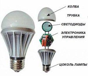 ремонт led лампы