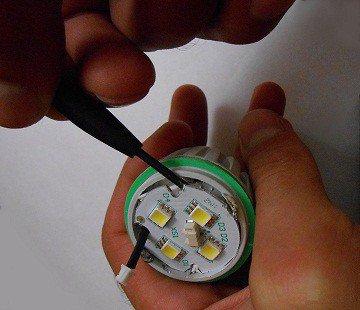 ремонт светодиодных ламп