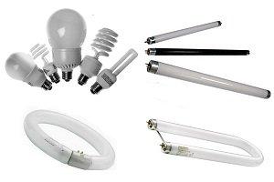 виды люминесцентных ламп