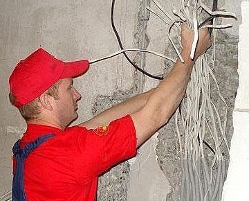 Демонтаж старой электрики