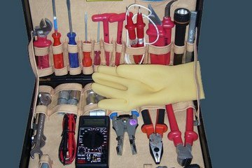 Комплект инструментов для электрика