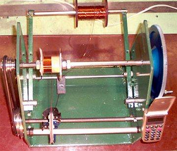 Оборудование и инструменты для намотки преобразователя