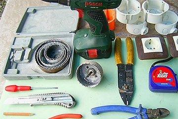 Инструментарий для установки эл устройств