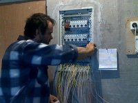 Монтаж электрического щита