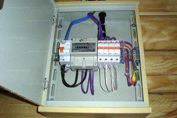 Монтаж электропроводки для загородного строения