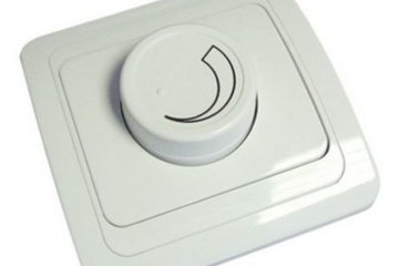 Принцип работы прибора со светорегулятором