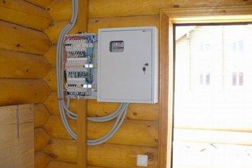 Схема электропроводки в дачном доме